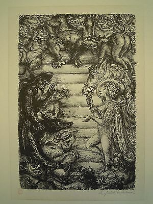 A. Paul Weber - Original - Lithographie - W75
