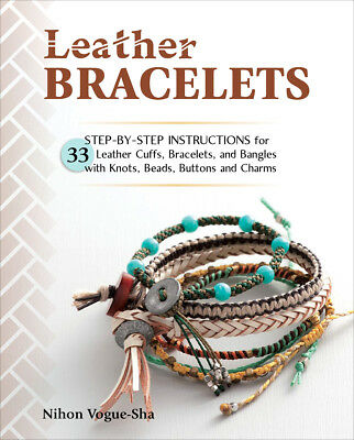 Gooseberry Patch STB-17809 Stackpole Books-Leather Bracelets