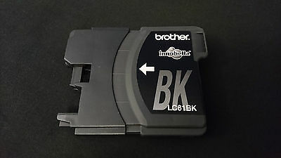 GENUINE Brother LC61BK LC61 BLACK Ink Cartridge EMPTY - READY TO REFILL