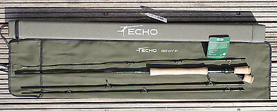 Echo OHS 10,4ft #7 One Hand Spey 4 teilig 2 Fighting Butts GROSSARTIG!