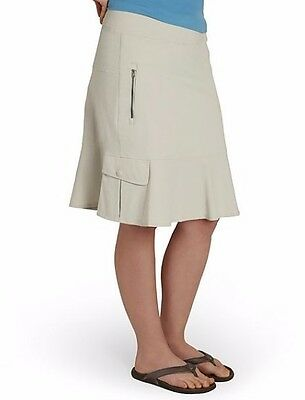 ROYAL ROBBINS  Womens Discovery Skirt, Outdoors Soapstone