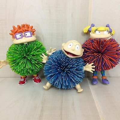 NICKELODEON RUGRATS KOOSH Collectibles Tommy Angelica Chuckie 1998 OddzOn