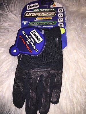 Franklin Uniforce Work Gloves, Carbon Fibre Digital  (Black, L)