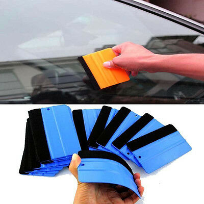 Soft Install Paper Mobile Wrapping Film Car Squeegee Tool Cleaning Scraper