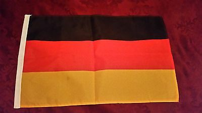 "Small German Flag 1x1.5 30x45cm 12x18"" 100% Polyester (ships from Canada)"