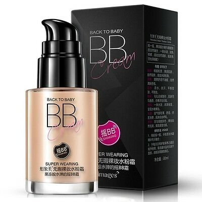 Long Lasting Isolation Foundation Concealer BB Cream Skin Whitening Oil Control