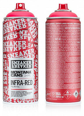 Montana Cans x Sneaker Freaker spraypaint can  RARE Infra-Red Graffiti paint