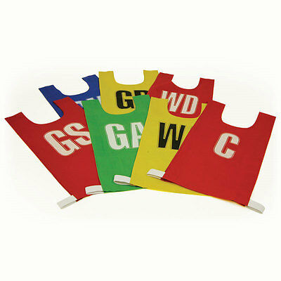 Senior Mesh Over Shoulder Netball Bibs Variety of colours available