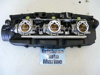 03-08 YAMAHA GP1300r THROTTLE BODY ASSEMBLY FUEL INJECTION 60T-13750-00-00