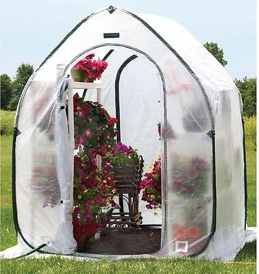 Greenhouse, FlowerHouse PlantHouse 5 ft x 5 ft. Included Gro-Tec Cover, Portable