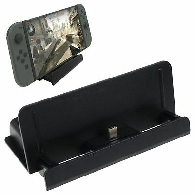 Charging Dock Station Stand Holder Charger Bracket For Nintendo Switch Console