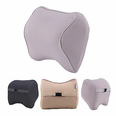 Auto Car Seat Pad Memory Foam Travel Pillow Head Neck Rest Support Cushion