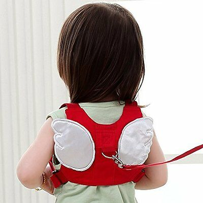 ABOGALE Angel Wings Toddler Walking Safety Back Harness Reins Toddler Leash C...