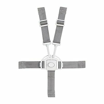 Boon Flair Baby Harness/Buckle, Kids Safety High Chair, Seat Belt Strap Wht New