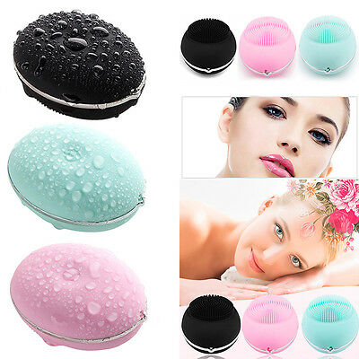 Automatic Face wash Device Sonic System Cleansing Brush Face Thin Massage Device