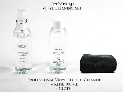 Vinyl Record Cleaner Anti Static Spray Cleaning Fluid 200ml LP Made in Germany !