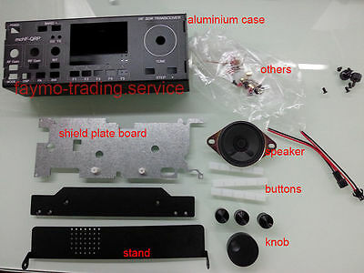 NEW Aluminum Case for mcHF SDR Radio UI RF V0.5 V0.6 + shield board +speaker