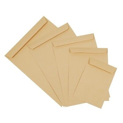 C5 Envelopes Peel Self Seal Manilla White Envelope DL Window Home Office