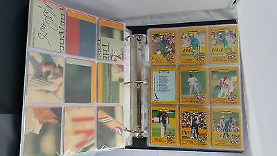 1986-1987 ASHES Cricket Collector Cards SCANLENS Complete Set of 66 Cards