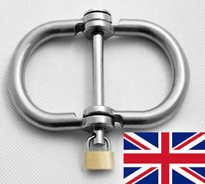 Victorian Handcuffs Stainless Steel With Locks ,  Very Thick, Uk Fast Post