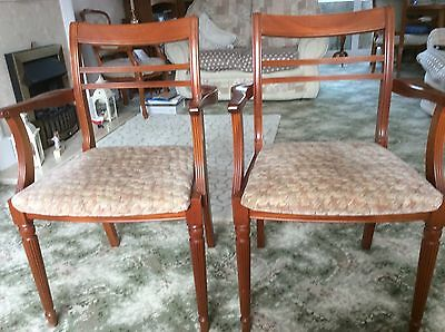teak carver dining chairs. G-plan