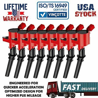 8Pack DG508 Ignition Coils For 1997~2003 F-150 5.4L/2000~2009 F-150 4.6L 5.4L V8