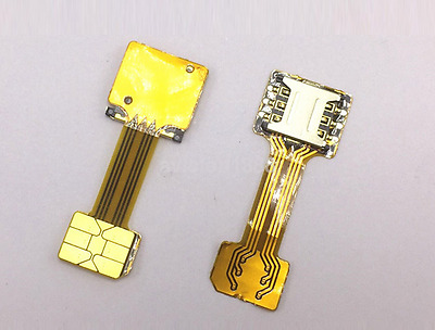Dual SIM Card Adapter Extender Nano/Micro/Mini SIM Adapter for Android Hot Sale