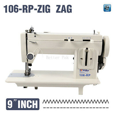 9inch reverse stich and ZIG ZAG  fur,leather,fell clothes thicken sewing machine