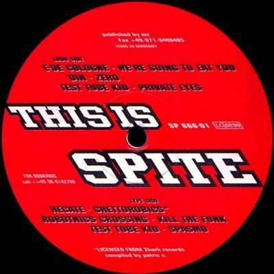 "12"": Various - This Is Spite - Spite - SP 666-01"