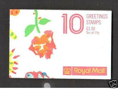 Fy1 1989 Greeting Stamp Booklet