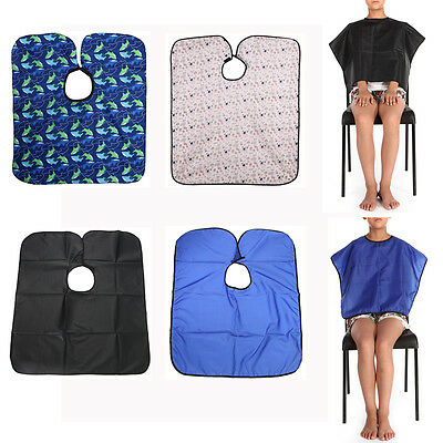 NEW Hair Salon Cutting Barber Hairdressing Cape Hairdresser Apron For Kids/Adult