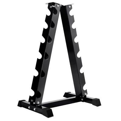 Vertical Dumbbell Rack 6 Pair Storage TreeRack Hex Weight Stand Home GYM Fitness