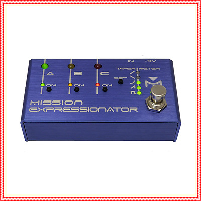 Mission Engineering Expressionator Multi-Expression Controller  Effects Pedal