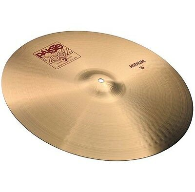 "PAISTE 2002 Serie Medium Crash 16"" Becken"