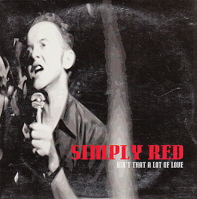"""Cd Sp 2 T Simply Red  """"ain't That A Lotof Love"""""""