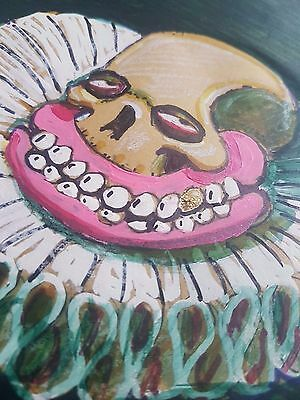 sweet toof, urban, graffiti, street art, original on paper