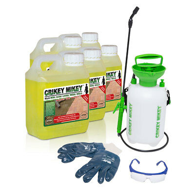 Crikey Mikey Heavy Duty Cleaning Solution Kit