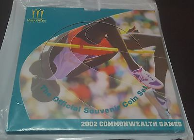SEALED 2002 Commonwealth Games The Official Souvenir Coin Set