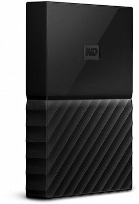 WD 2TB My Passport BLACK Portable External Hard Drive HDD USB 3.0 WDBYFT0020BBK