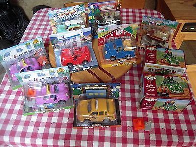 """10 Vintage Cars """"The Chevron Cars"""" 1996 1997 Collectible"""