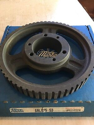 """Genuine Martin 60L075 SD TIMING PULLEY Sprocket FACTORY OEM, 7 1/4"""""""
