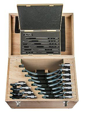 Mitutoyo Outside Micrometer Set 12 Piece 0-300mm P/N 103-914-50 BNIB