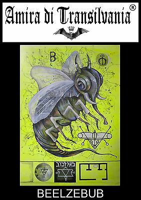 Beelzebub 666 demon seals magic power satan satanic icons lucifer lemegeton keys