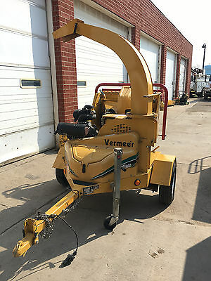 Vermeer BC600XL Wood Chipper Forestry Tree Equipment Trailer Kohler 109 Hours