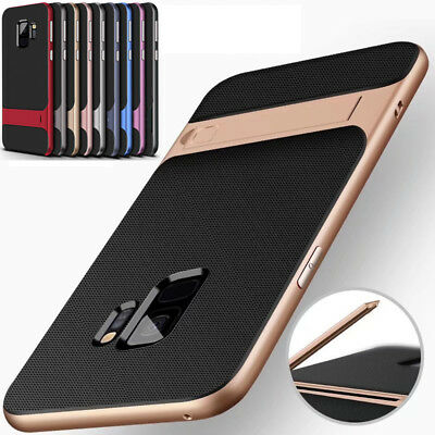 Shockproof Hybrid Case For Samsung Galaxy S9 S9+ KickStand Back Cover for S8Plus