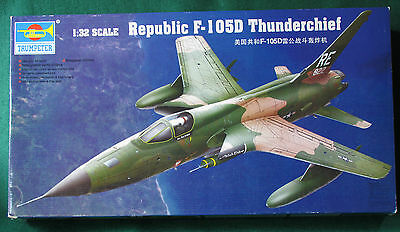 1/32 SCALE REPUBLIC F-105D THUNDERCHIEF by TRUMPETER