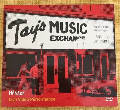 Hanson Band Tay's Music Exchange DVD Rare Give A Little