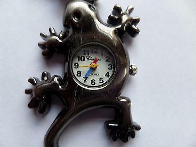 Gecko (?) Keyring Watch    (S19)  NEW BATTERY BEFORE POSTING