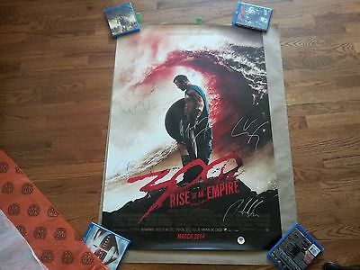 300: Rise of an Empire cast signed movie poster