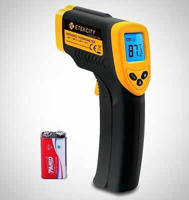 Etekcity Lasergrip 774 Non-contact Digital Laser IR Infrared Thermometer 50°C